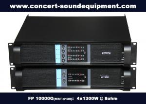 China 4 Channel Line Array Pro Audio Speaker Class TD With Switching Amplifier on sale
