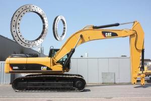 China Slewing Ring for Caterpillar Excavator Cat 320, Zhongya slewing bearing on sale