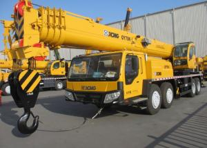 China QY70K-I XCMG Truck Crane / XCMG Mobile Crane Heavy Construction Machinery on sale