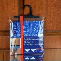 China Garment  Laminated Zip Plastic Poly Bag with Hanger Custom Printed on sale