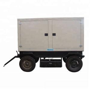 China Trailer Mounted Mobile Diesel Generator 50KVA High Efficiency Easy Maintenance on sale
