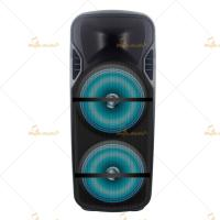 China Plastic Bluetooth Portable PA Speakers 12 Inch Remote Control on sale