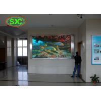 Conference led p5 hd tv display applied to business company inside building