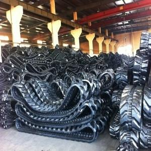 China Hot on Sell High Quality Rubber Track (400*74*68) for Kobelco Excavator on sale