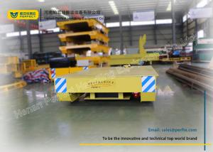 China Steel Coil Transfer Trolley Upender Device With Optional Automatic Control on sale