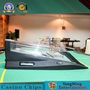 China Gambling Casino Card Shoe Dedicated Intelligent Electronics 8 Deck Playing Cards Shuffler on sale