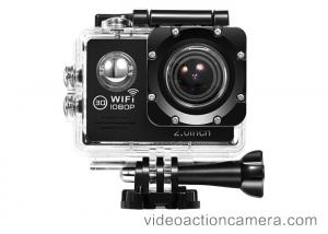 China 30m Waterproof Remote Control Underwater Camera , Full Hd 1080p Action Camera on sale