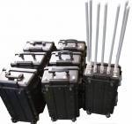 携帯電話 7 バンド 350 ワットの爆弾の妨害機の電池が付いている携帯用妨害機装置