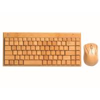China CE factory High Quality Pure Handmade Natural Bamboo mouse and keyboard