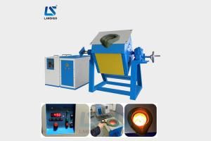 China Electric Metal Iron Melting Induction Furnace 25kw High Efficiency CE Certification on sale