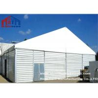 China Durable Waterproof Outdoor Warehouse Tents Sandwhich Panel Wall Aluminum Frame on sale