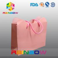 Cardboard Hot Stamping High End Colorful Customized Paper Bags For Shopping