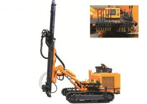 China KG410 Down the hole drilling rig for open mine use, rock ground drilling Rig on sale