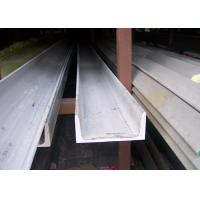 304 U Stainless Steel Channel Cold / Hot Rolled With Strong Corrosion Resistance