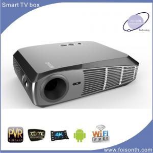 China Foisontech Hot Selling LED Projector of Android 4.4 1500 Lumens Smart Project on sale