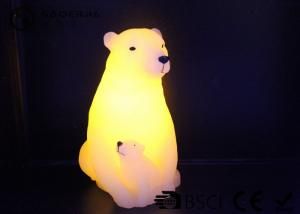 China Customize Plastic Electric Christmas Led Candles Cute Bear Shaped 585g on sale