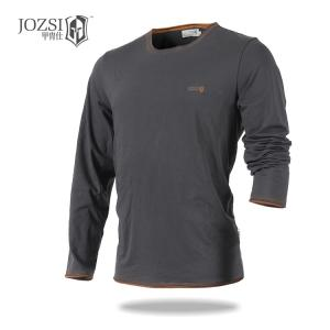 China Fashion design wholesale  long sleeve t shirt high quality long sleeve polo t shirt for men cheap wholesale clothing on sale