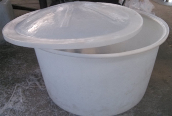 1000L Treering open top round shape PE material roto molded Huge