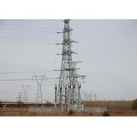 China Hot DIP Galvanized Large Power Line Towers , Overhead Line Steel Antenna Tower on sale