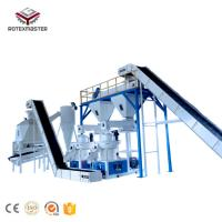 China Wood Pellet And Corn Straw Pellet Mill Machine Production Line on sale