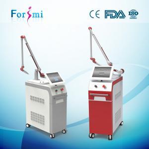 China Adjustable spot size q switch nd yag / tattoo removal machine on sale
