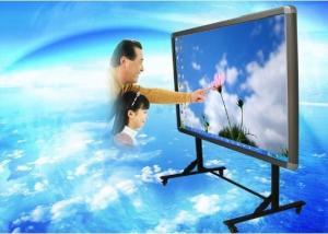 China Ultra Interactive Finger / Infrared Touch Smart Interactive Whiteboard, Gesture Control on sale