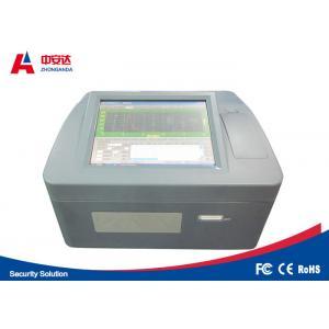 China Benchtop Bottle Liquid Scanner Explosive Detection System ZAD1000 Visual Alarm on sale