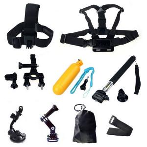 China 9-in-1 Gopro Accessories Hero 4 Camera Accessories Bundle Set for Gopro Hero 3+ 3 2 1 on sale