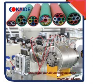 China extrusion line for microduct bundles-fiber optic calbe blowing on sale