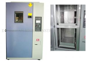 Quality Thermal Shock Impact Thermal Shock Test Chamber For Plastic And Rubber Material for sale