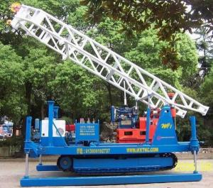China Electric Core Drill Rig / Crawler Mounted Drill Rig For Blasting Engineering Hole on sale