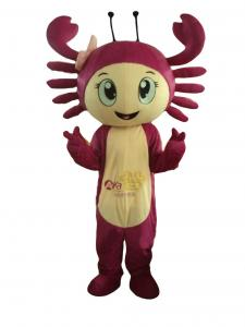 China Sea animal Crabs costume mascot,advertising funny costumes,animal mascot,adult mascot on sale
