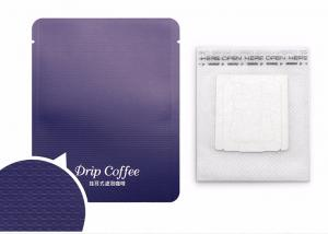 China Disposable Biodegradable Single Serve Coffee Bags Non Woven Material on sale