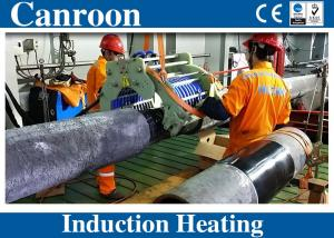 China IGBT Induction Heating Generator for Pipe Fields Joint Anti-corrosion Coating with Manual Clamp Split Core Inductor on sale