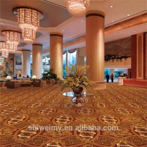 China Arabic style traditional star hotel lobby axminster carpet on sale
