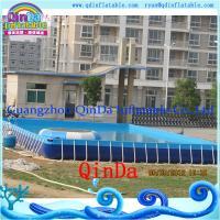 Guangzhou QinDa Above Ground Pool PVC Frame Pool
