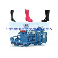 PVC Winter Boots Plastic Shoes Making Machine ,Shoe Manufacturing Machines For Ladies Boots