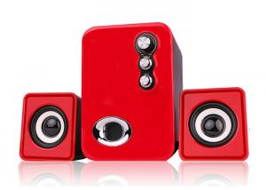 China RECCAZR USB 2.1 Channel Speakers , Computer Stereo Speakers Multimedia on sale