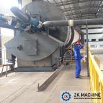Energy Saving Pulverized Coal Burner , Cement Kiln Burner High Reliability