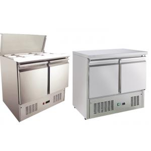 China Air Cooling Commercial Drawer Refrigerator Auto Closing 3 Door Commercial Fridge on sale