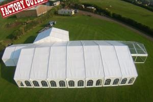 China Hot Sale Backyard Clear Roof Indian 10x30 Party Wedding Tent With Decoration on sale