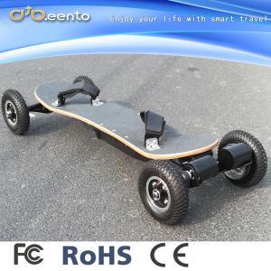 China 4wheel 3300w big wheel off road mountain maple electric skateboard on sale