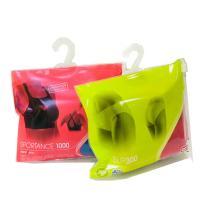 Sock / Underwear Plastic Hanger Bags Slider Zip Lock Custom With Hook Hanger