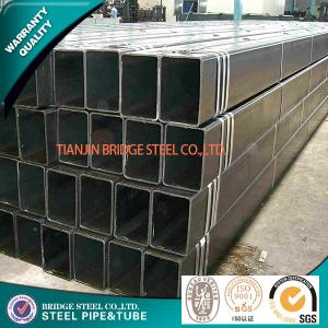 China Fluid 2 Square Steel Tubing , ASTM A53 ERW Large Diameter Steel Pipe on sale