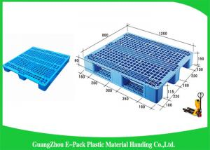 China Single Face Small Plastic Pallets With Steel Tubes Inside , Light Duty  Mini Plastic Pallets on sale