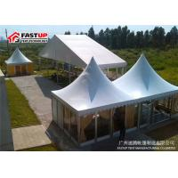 All Season Classic Festival Party Tent With Side Eaves Rail / Gable Pole