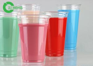 China Recyclable Clear PET Plastic Cups 600ml Strong Easy To Hold For Restaurants on sale