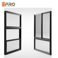 China American Single Double Hung Thermal Break Aluminum Window / Vertical Sliding Sash Window on sale