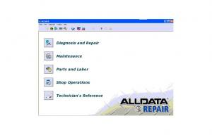 China Auto Repair Software New HDD For Alldata 10.52 + Mitchell Ondemand 5 Q1.2012 + Autodata V3.38 on sale