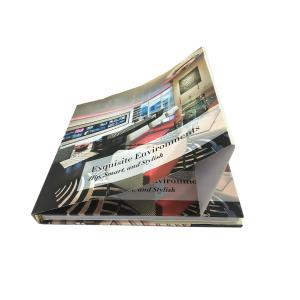 China Custom Scenery Magazine Case Bound Bprint on demand spiral bound books Hard Cover on sale